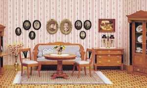Стиль бидермейер: интерьер и мебель