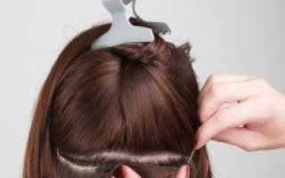 Трессовое наращивание волос – что это такое?