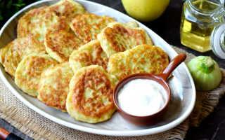 Оладьи из кабачков и яблок: простой рецепт
