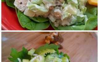 Салат из стеблей сельдерея: разевай роток на вкусный черешок!