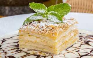 Крем заварной для Наполеона: разные варианты для одного торта