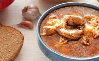 Суп харчо из свинины: рецепт