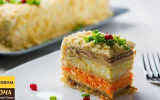 Закусочный торт Наполеон – кулинарная фантазия