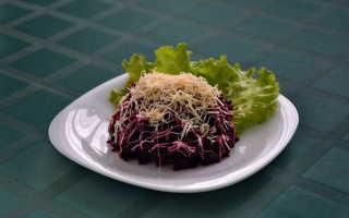 Салат из свеклы с сыром – как приготовить