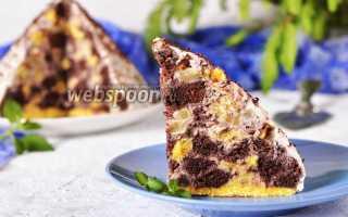 """Торт """"Панчо"""" с ананасами: красиво, вкусно, сочно"""