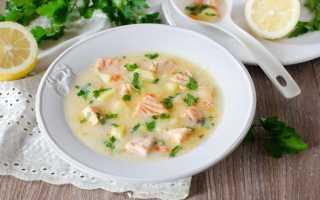 Рыбный суп из семги: рецепт