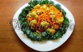 Рецепт цветной капусты по-корейски – это просто