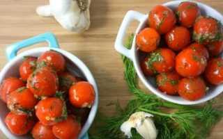 Соленые помидоры быстрого приготовления, вкус которых покорит вас навсегда