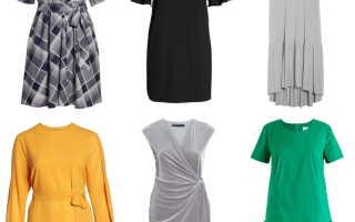 Вечернее платье на полную фигуру: выигрышные варианты