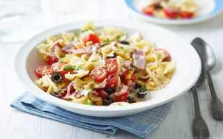Салат с макаронами и ветчиной – оригинальный рецепт