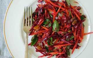 Салат из свежей свеклы – как приготовить