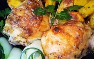 Запеченные куриные бедрышки – как приготовить