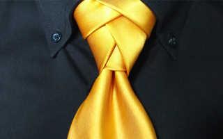 Как завязать галстук узлом элдриджа: подробная пошаговая инструкция