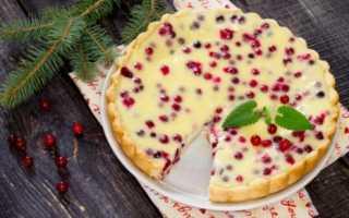 Пирог с брусникой и яблоками: лучшие идеи для вкусной выпечки