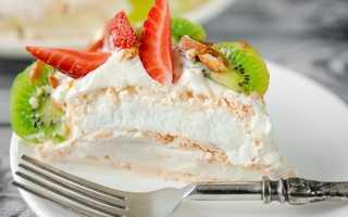 Торт из зефира и печенья: изысканные десерты без выпечки