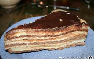 """Торт сметанный """"Мишка"""": рецепт приготовления"""