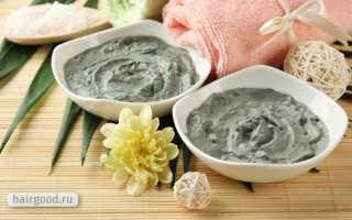Голубая глина для волос: рецепт маски, отзывы, применение от выпадения