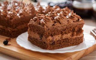 Шоколадный торт: простой рецепт приготовления