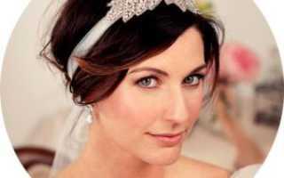 Свадебные прически с челкой – возможные вариации