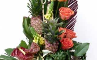 Какие цветы подарить мужчине на праздник?