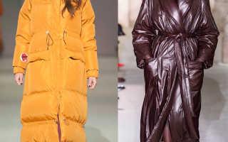 Какое пальто выбрать зимой 2020 года