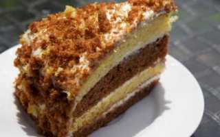 Торт на сметане: простой, легкий и очень вкусный десерт