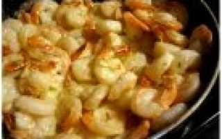 Креветки: рецепты блюд, которые можно приготовить легко и быстро