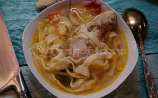 Куриный суп с домашней лапшой: польза, приготовление и советы