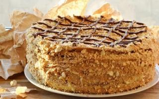Наполеон, торт: рецепт классический