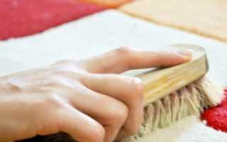 Как почистить ковер в домашних условиях быстро и эффективно: уксус, сода, ваниш, порошок