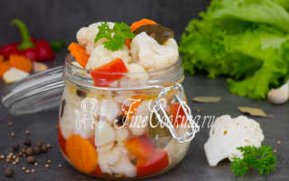 Рецепт маринованной цветной капусты: быстро и легко