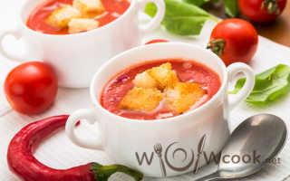 Суп гаспачо: рецепт его приготовления