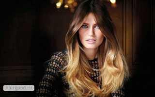 Как покрасить волосы с эффектом выгоревших прядей