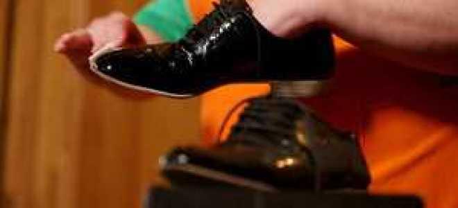 Уход за лакированной обувью – особенности