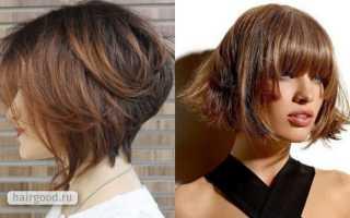 Градуированная стрижка на средние волосы – как ее создать?