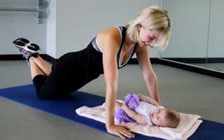 Восстановительная гимнастика после родов – комплекс упражнений