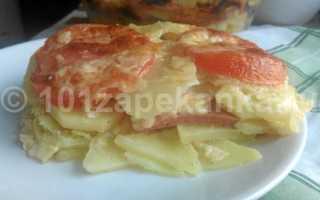 Запеканка картофельная с колбасой: рецепт приготовления