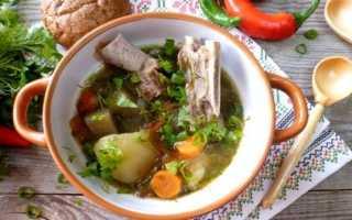 Суп из баранины: рецепт и ингредиенты
