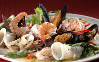 Салат из морского коктейля. Польза и прекрасный вкус