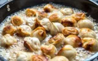 Жареные пельмени: рецепт быстрого ужина