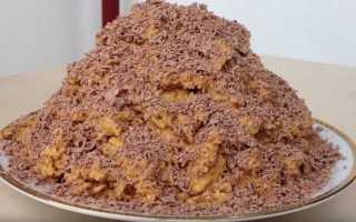 Торт Муравейник из печенья: рецепт приготовления