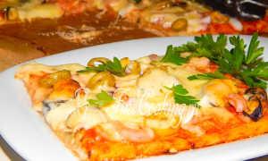 Пицца с морепродуктами: варианты приготовления