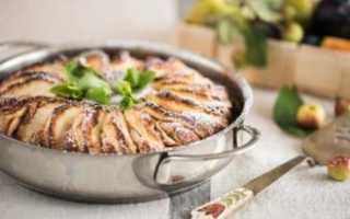 Пирог с яблоками сухой: рецепт приготовления