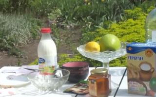 Салат красоты из овсянки – рецепт приготовления