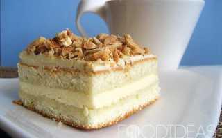 Бисквитный торт с масляным кремом – варианты приготовления