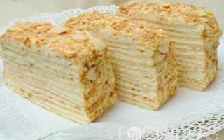 """Торт """"Наполеон творожный"""": изысканные вариации известного десерта"""