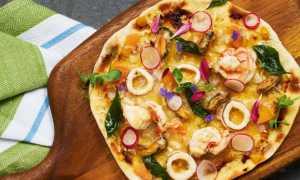 Пицца с креветками: лучшие рецепты пиццы с морепродуктами