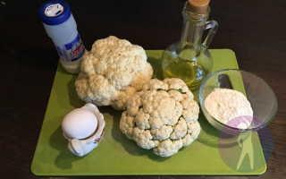 Рецепт цветной капусты в духовке: способ приготовления