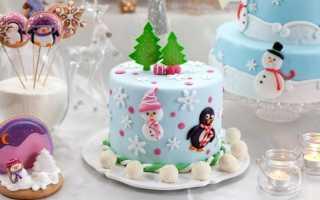 Новогодние торты: главное украшение праздника
