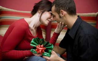 Подарок любимому на годовщину: как сделать правильный выбор
